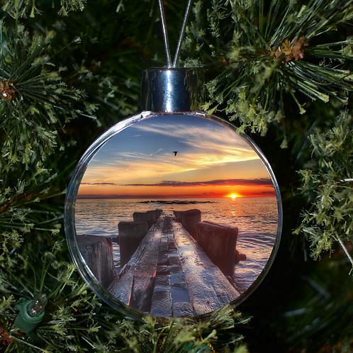 Ball Ornament - Sunset