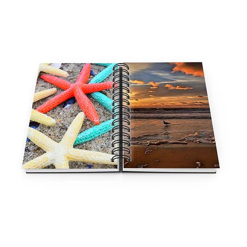 Sunny Seagull Sunrise Notebook