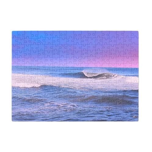 Puzzle & A Print: Purple Haze