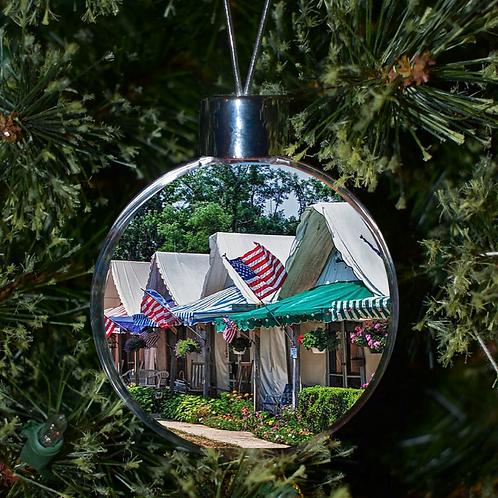 Ball Ornament - Ocean Grove Tents