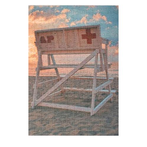 Puzzle & A Print : Asbury Park Lifeguard Stand