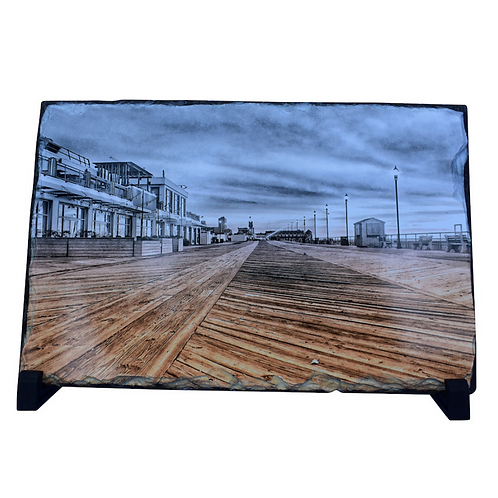 Asbury Park Boardwalk Slate With Stand