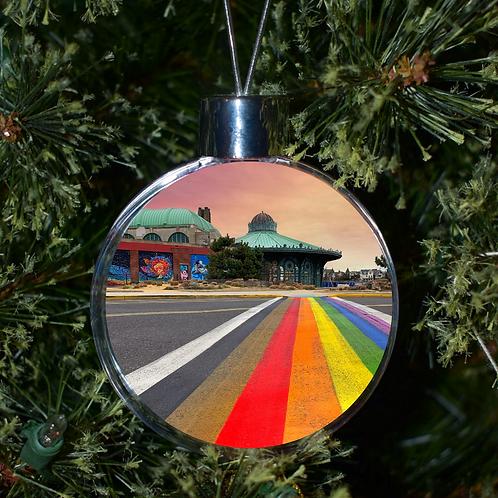 Ball Ornament - Rainbow Walkway