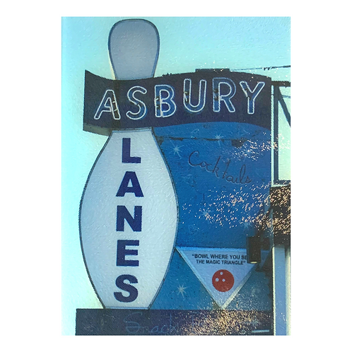Tempered Glass Cutting Board -Asbury Lanes