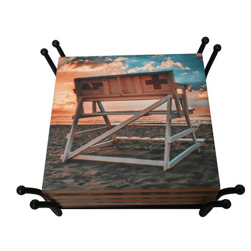 Asbury Park Lifeguard Chair Coaster