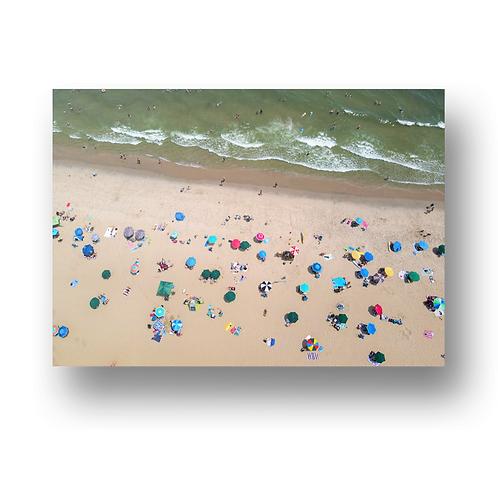 Ocean Grove Beach - Sea of Umbrellas
