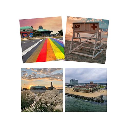 Asbury Park Coaster Set of 4