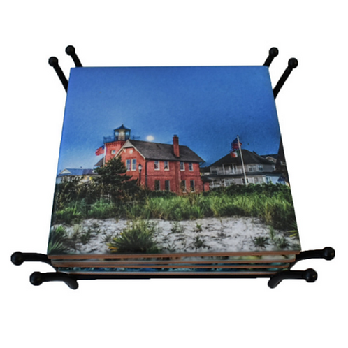 Sea Girt Lighthouse Coaster
