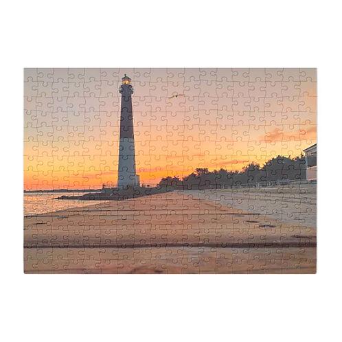 Puzzle & A Print : Barnegat Light