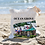 Thumbnail: Ocean Grove Tents Linen Tote Bag - Double Sided