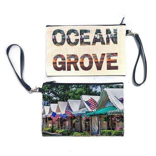 Ocean Grove Wristlet