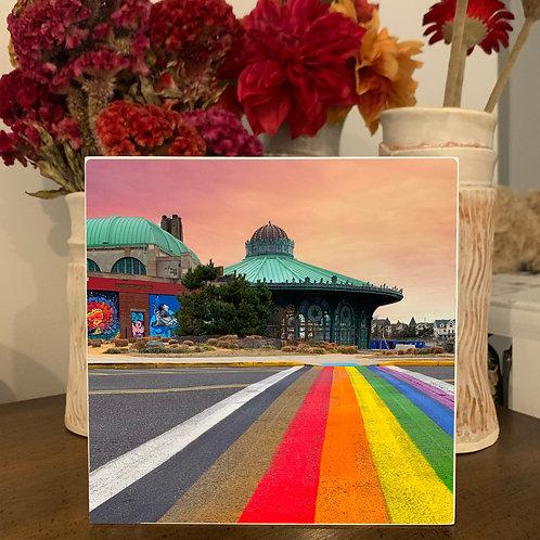 Hang or Tabletop Display - Rainbow Runway