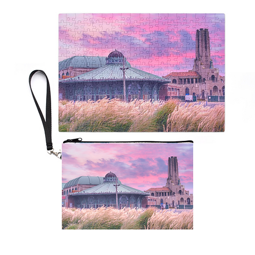 Puzzle In A Pouch: Asbury Park Sunrise
