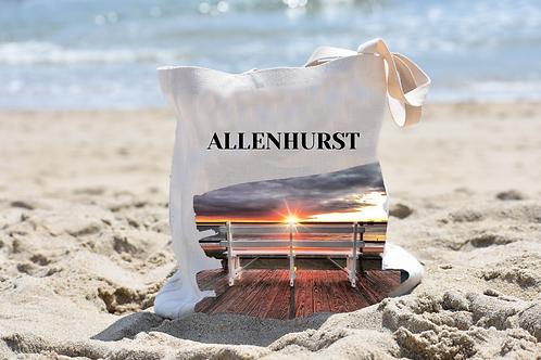 Allenhurst Linen Tote Bag - Double Sided