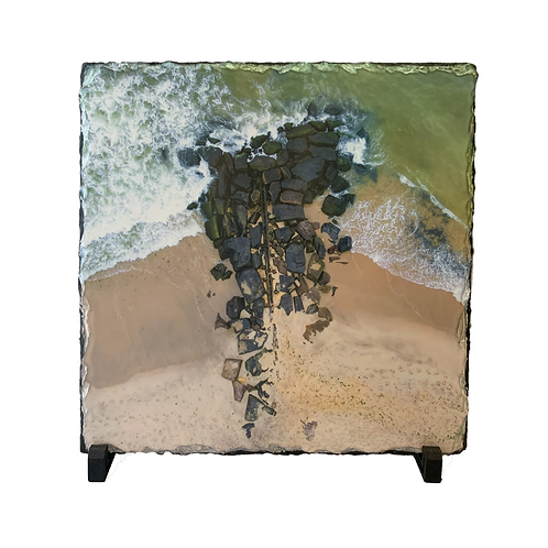 Asbury Park North Beach Slate With Stand