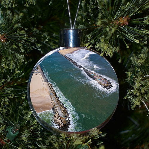 Ball Ornament - Manasquan Inlet Outlet