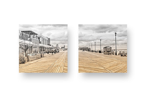 Boardwalk Print On Wood