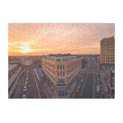 Puzzle & A Print : Downtown Asbury