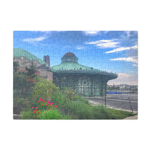 Puzzle & A Print : Asbury Park Carousel