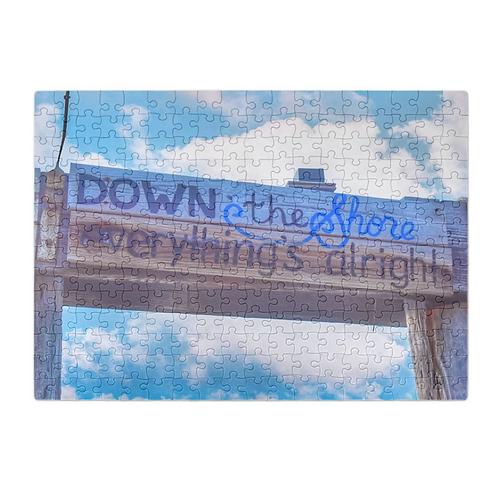 Puzzle & A Print : Down The Shore