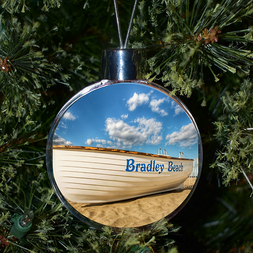 Ball Ornament - Bradley Beach