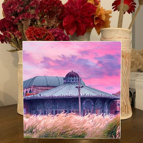 Hang or Tabletop Display - Asbury Sunrise