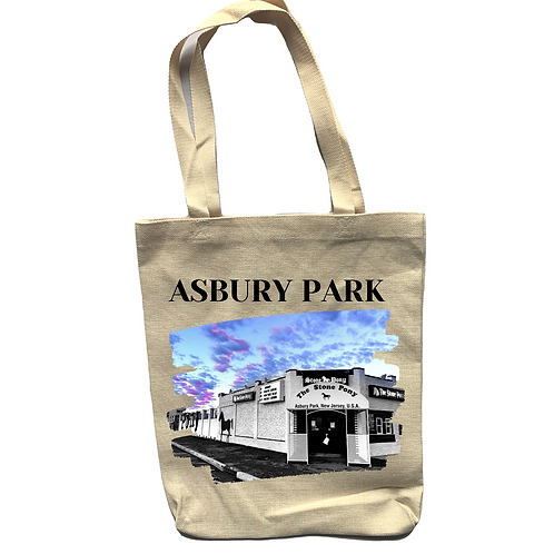 Stone Pony Linen Tote Bag - Double Sided
