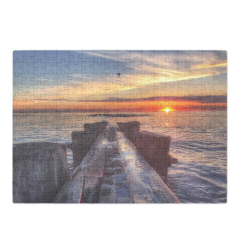 Puzzle & A Print : Summer Sunset