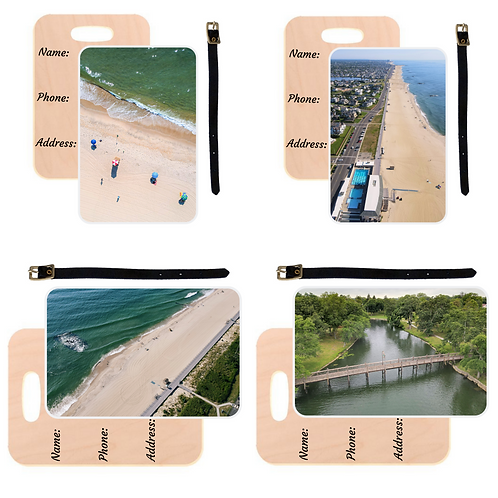 Spring Lake Family Pack Luggage Tag