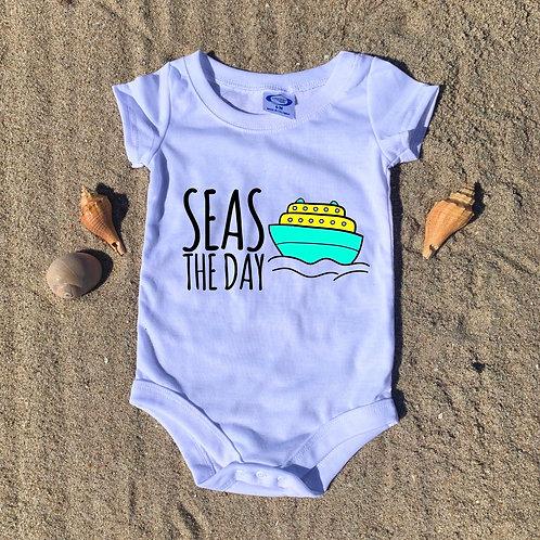 Seas The Day Baby Onesie