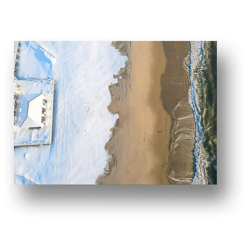 Avon By The Sea Print on Canvas, Metal, Paper