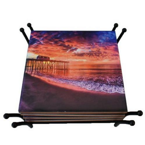 Belmar Fisheye Coaster