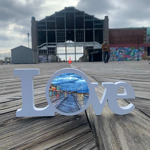 All you need is LOVE - Asbury Park Bowardwalk