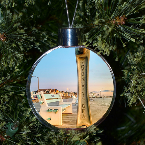 Ball Ornament -Avon By The Sea