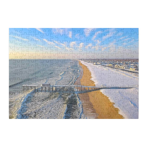 Belmar Winter Series x Puzzle & A Print