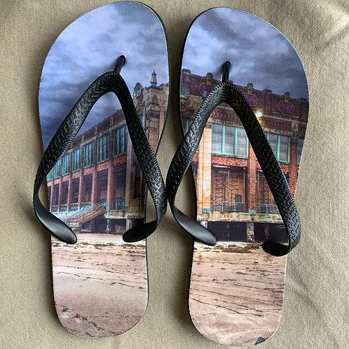 Convention Hall Flip Flops