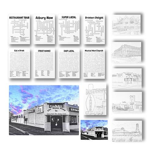 Puzzle, Print, & Activity Kit + BONUS Downloadable coloring pages