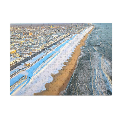 Bradley Beach Winter Series x Puzzle & A Print