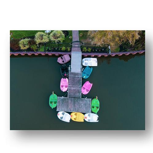 Asbury Park Pedal Boats Print