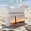 Thumbnail: Long Beach Island Linen Tote Bag - Double Sided
