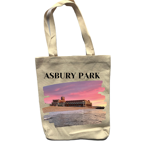 Convention Hall Linen Tote Bag - Double Sided
