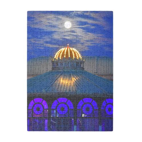 Puzzle & A Print: Super Moon