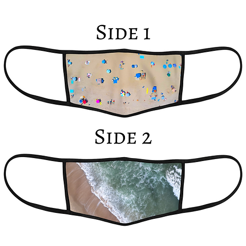 NEW Reversible 3-Layer Face Mask - Endless Summer