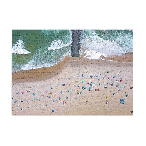 Puzzle & A Print: Bradley Beach