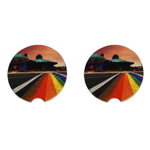 Car Coaster - Rainbow Walkway