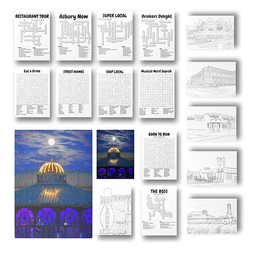 Puzzle, Print, & Activity Kit + BONUS Downloadable coloring pages