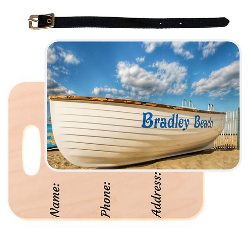Bradley Beach Luggage Tag