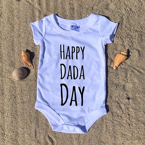 Happy Dada Day Onesie