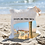 Thumbnail: Avon-By-The-Sea Linen Tote Bag - Double Sided -