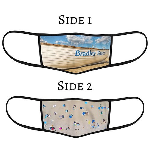 Reversible 3-Layer Face Mask - Bradley Beach